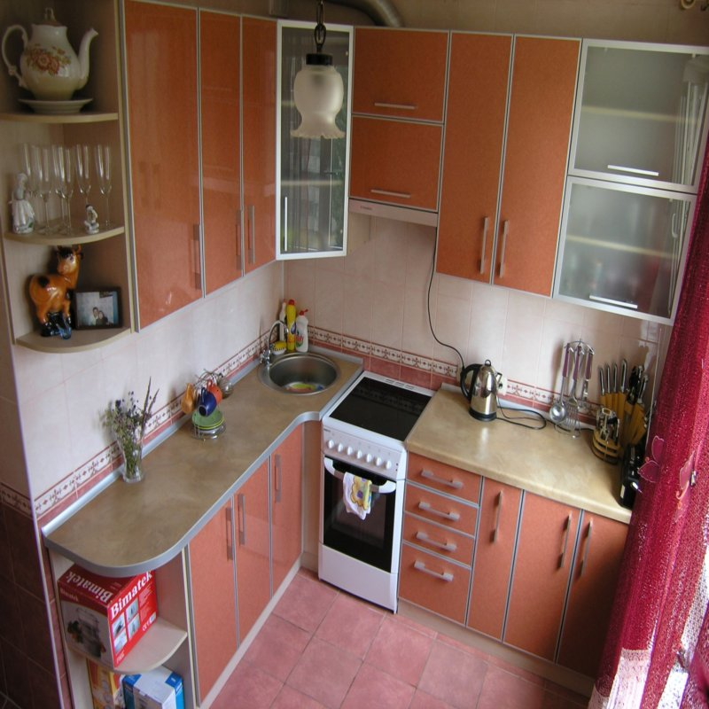 Дизайн кухни 4 кв
