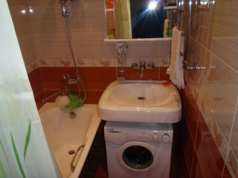 Фото и дизайн маленькой ванной комнаты в хрущевке