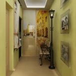 как сделать ремонт в коридоре
