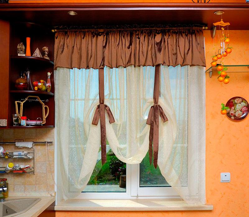 кухонных штор фото