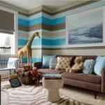 Оформление стен в гостиной фото идеи и новинки 2017