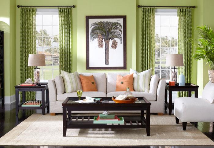 интерьер в зеленом цвете фото