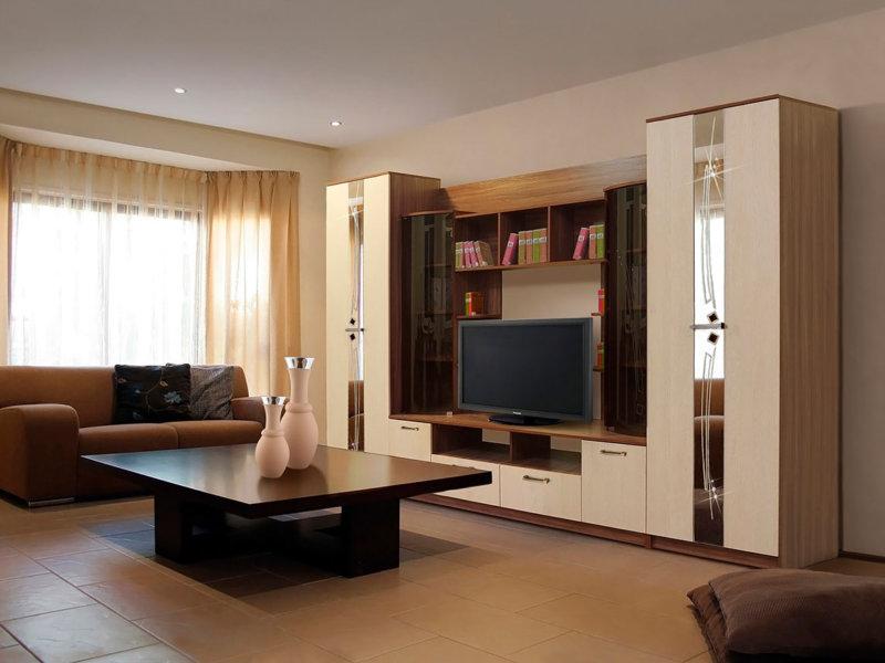 как подобрать мебель в гостиную современные идеи 2018 года