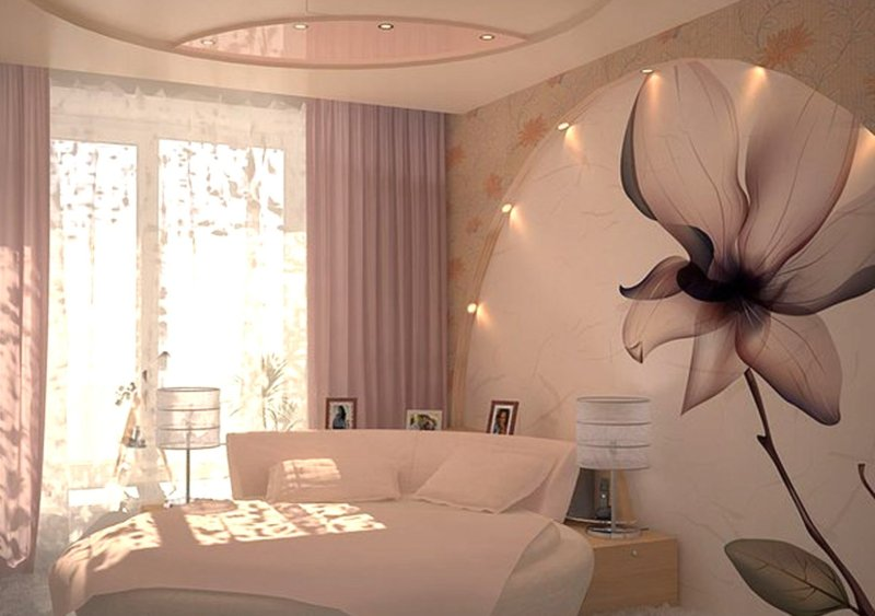 Современный ремонт в маленькой спальне: фото 2020