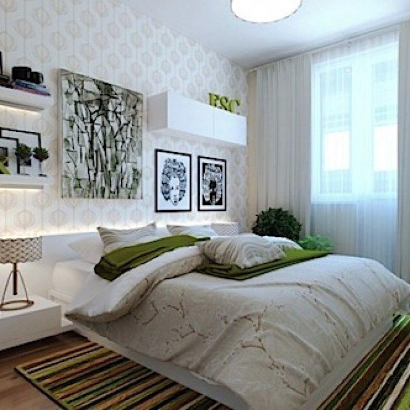 repair in a small bedroom