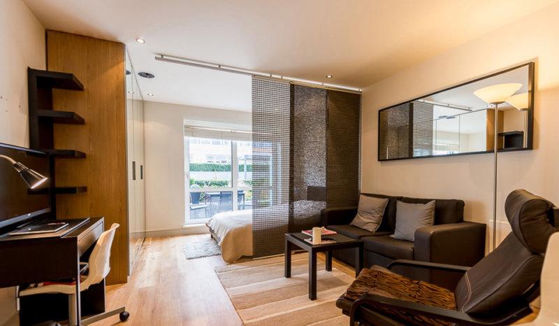 Дизайн квартиры-студии 26 кв.м