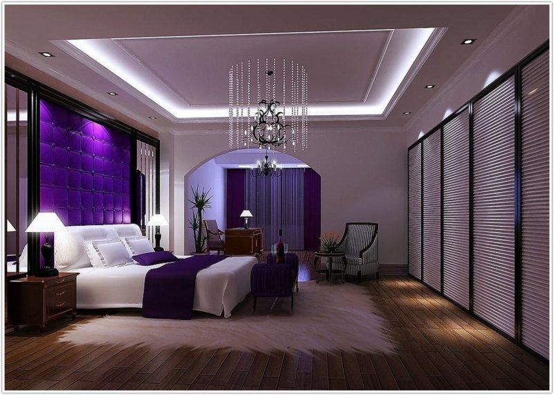Современный дизайн интерьера спальни: фото-идеи 2018 года