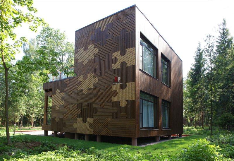 Краска для покраски фасадов из дерева
