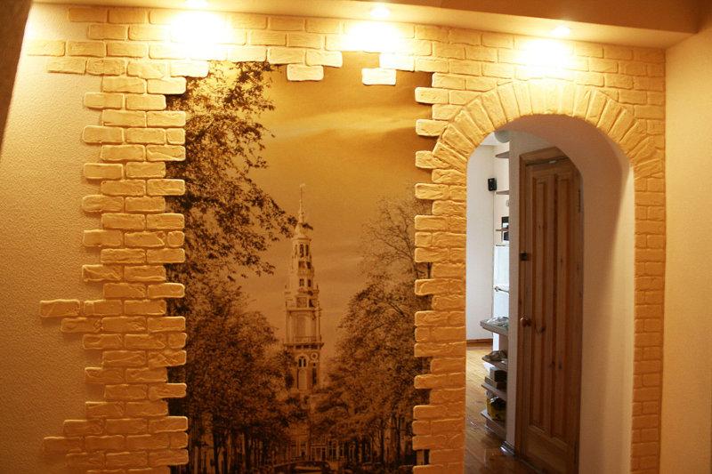современный дизайн стен фото