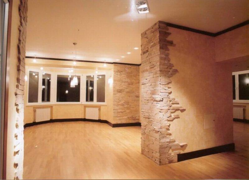 финишная отделка стен