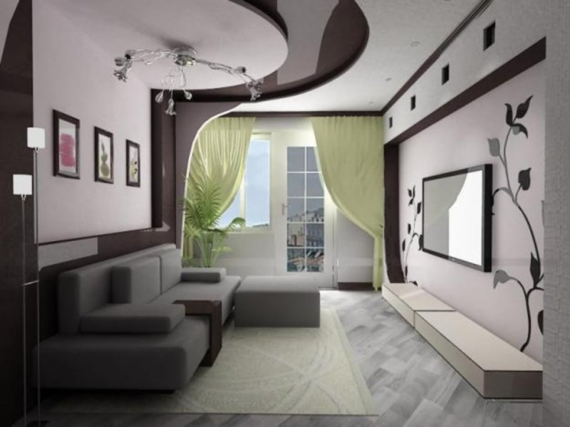 Отделка стен в прихожей - фото: варианты отделки стен в
