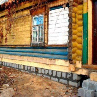 Капитальный ремонт старого дома