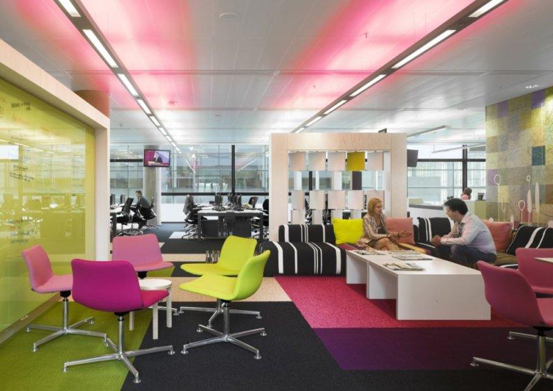 дизайн интерьера офиса компании