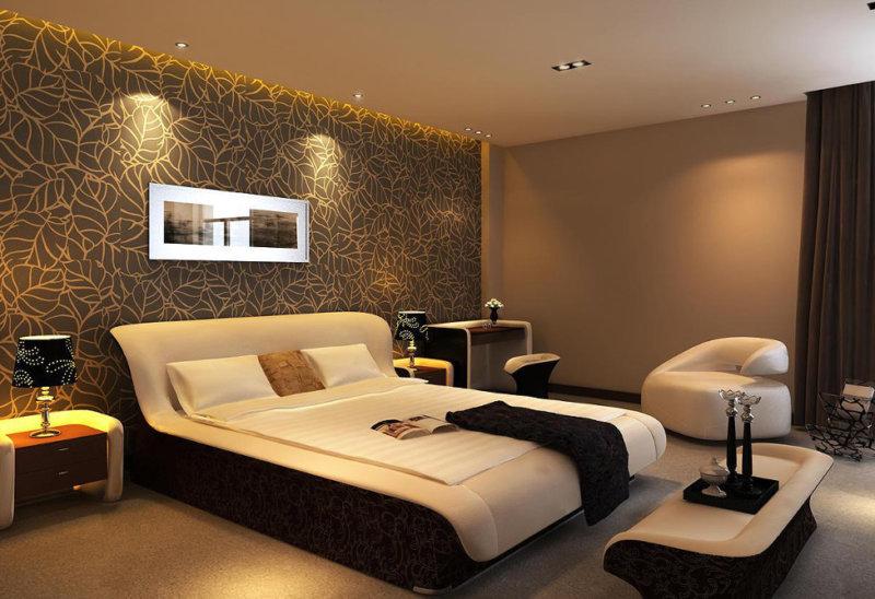 стильные спальни дизайн интерьера 55 фото примеров