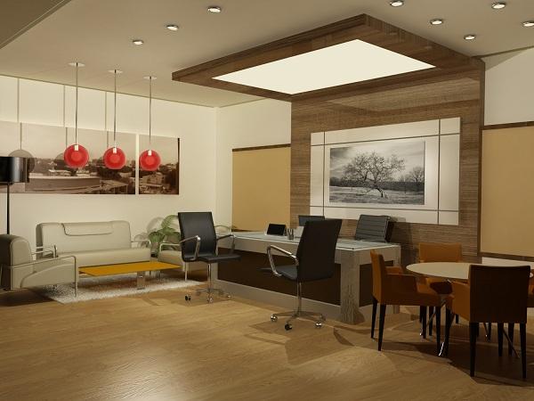 современный дизайн интерьера офиса фото примеры