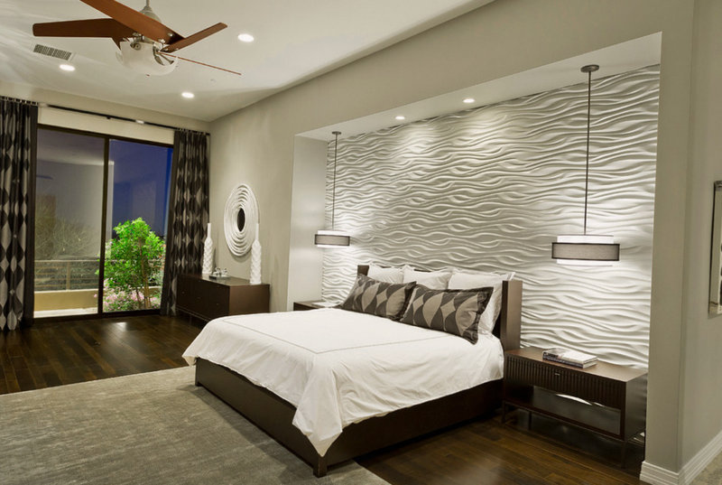 Стильные спальни - дизайн интерьера 55 фото примеров