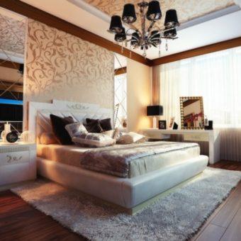 Дизайн интерьера спальни 2020