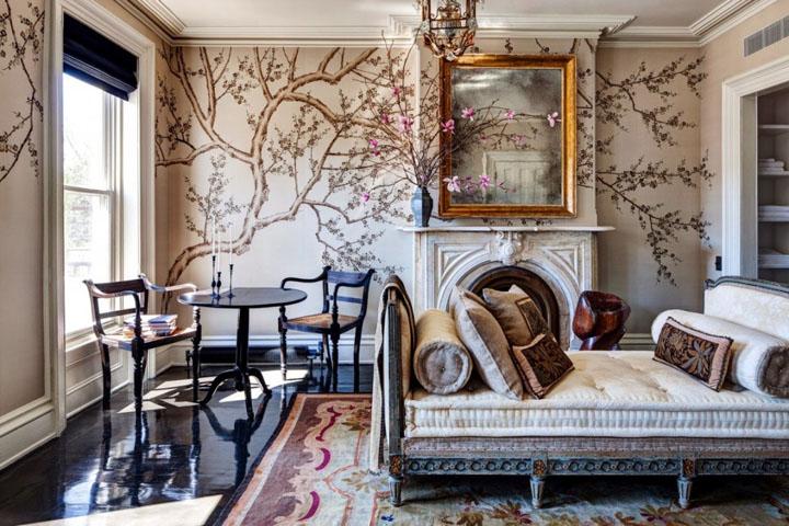 художественная роспись стен в квартире