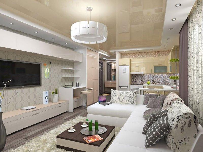 маленькие квартиры дизайн интерьера