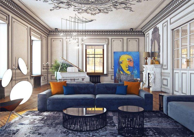 Современные стили в дизайне интерьера 2018