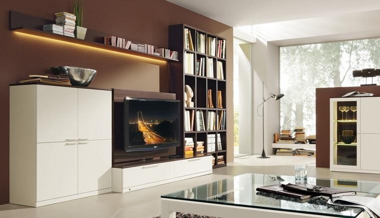 корпусная мебель в интерьере фото
