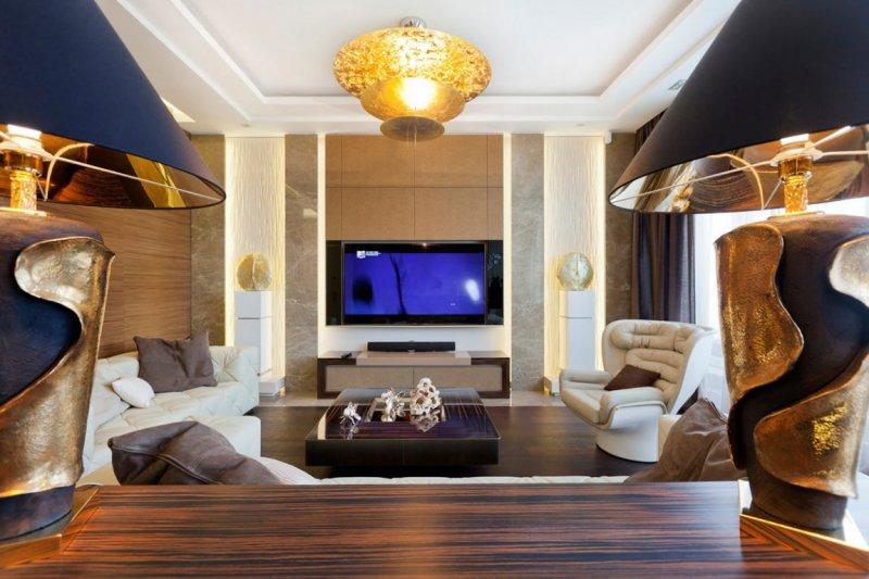 Дизайн интерьера в стиле модерн 2018