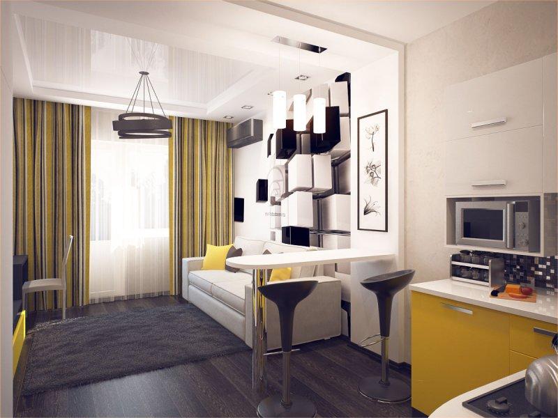 реальные интерьеры маленьких квартир