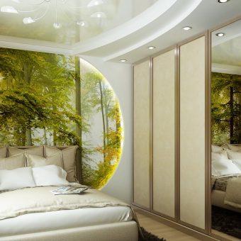 Идеи современной спальни фото