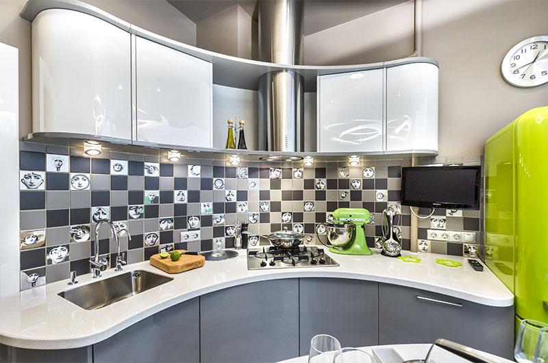 кухня в стиле хай тек 70 фото идей дизайна интерьера