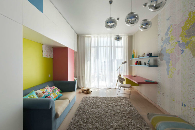 Дизайн проект детской комнаты