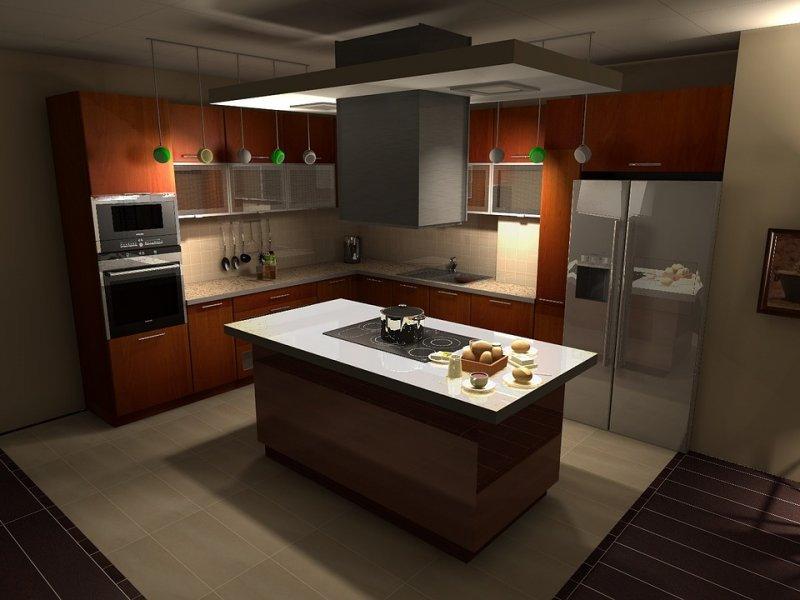Кухня в стиле хай-тек 70 фото идей дизайна интерьера