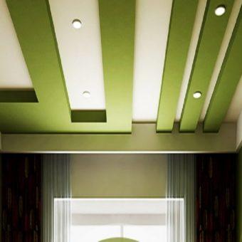 Дизайн потолков из гипсокартона 70 фото идей