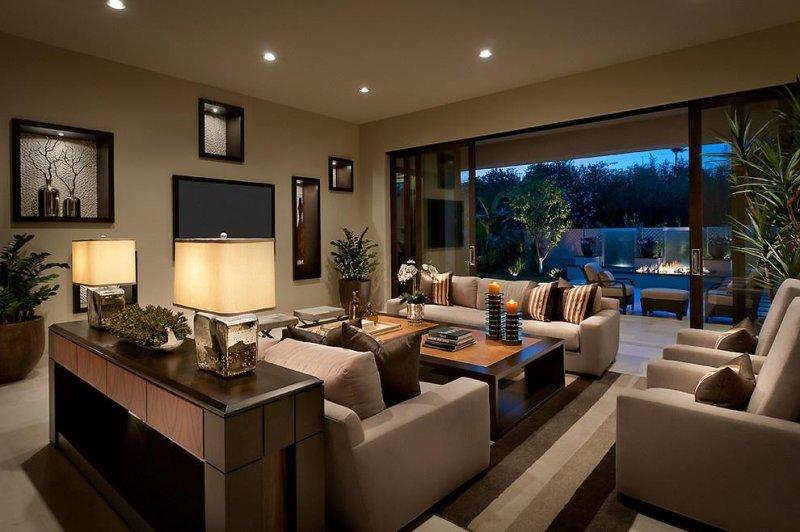 красивый интерьер гостиной фото