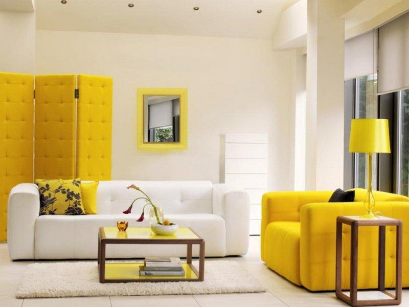 светлая мебель в интерьере