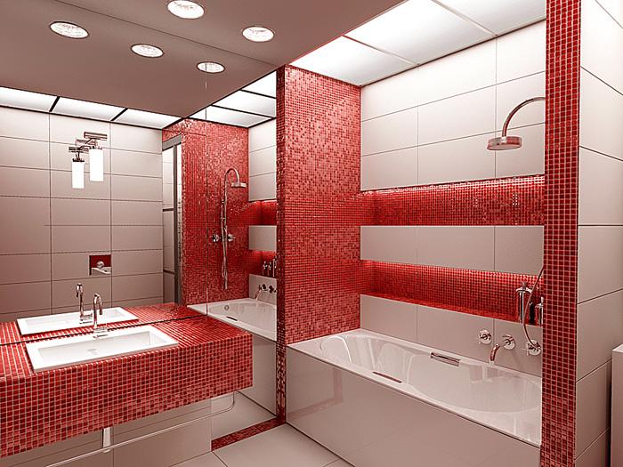 Дизайн проект ванной комнаты - 70 фото подборка