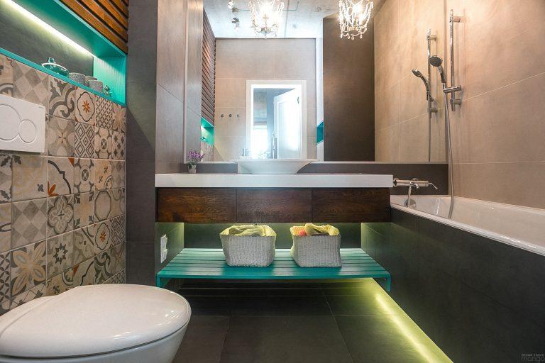 дизайн проект ванной 4 кв м