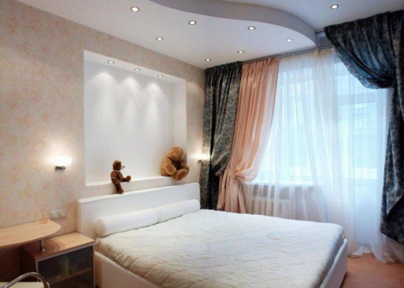 идеи дизайна спальни в хрущевке