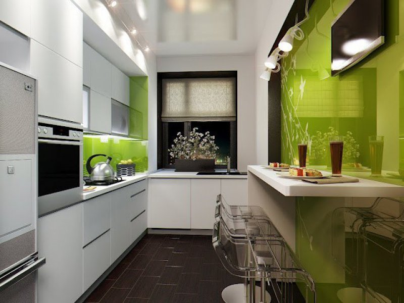 дизайн интерьера кухни 2018