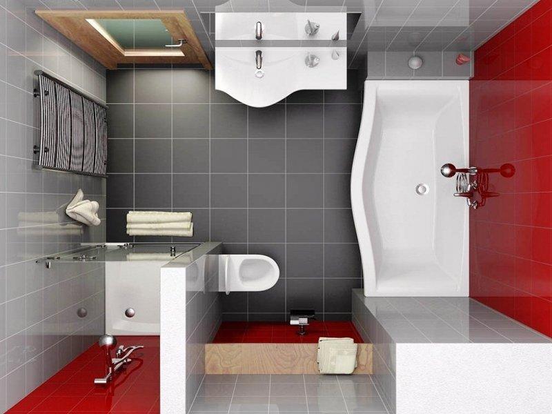 отделка ванной комнаты дизайн проекты