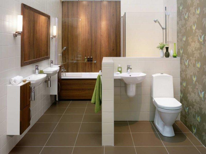 дизайн проект ванной фото