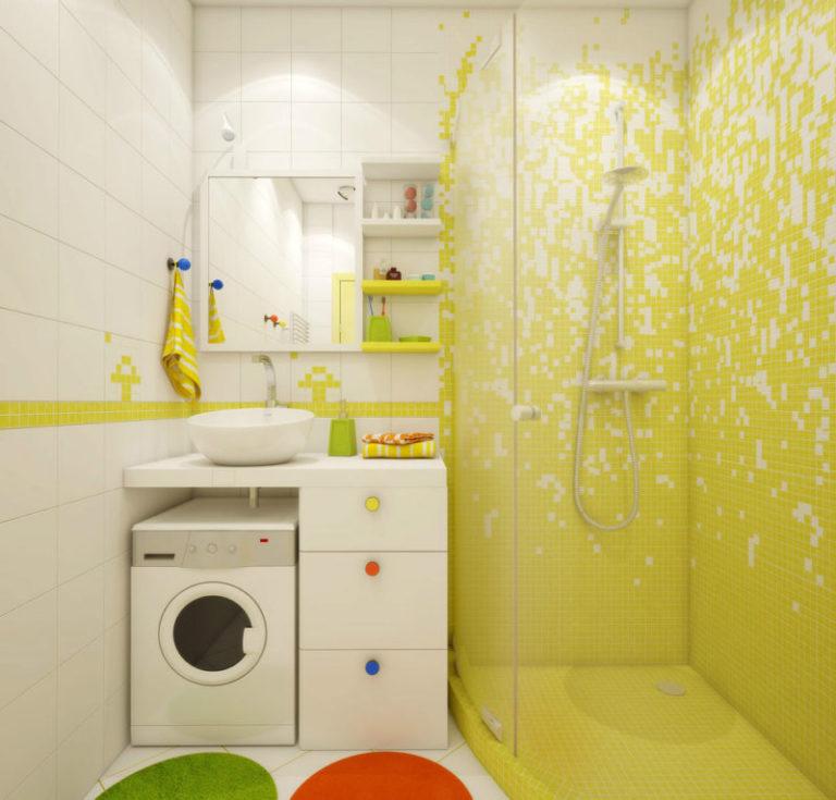 дизайн ванной комнаты с душевой фото 2018 современные идеи