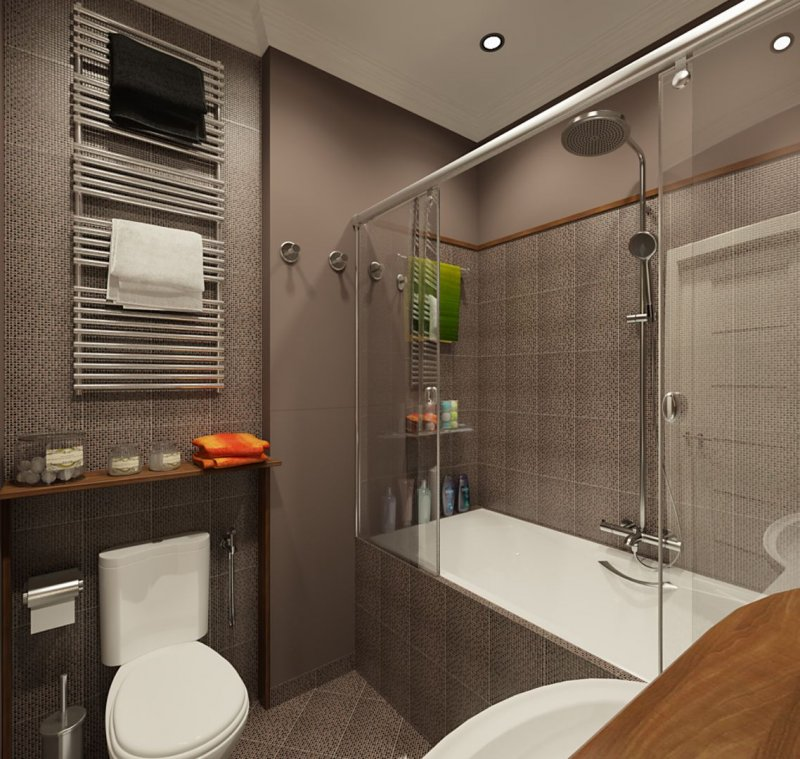 дизайн ванной комнаты фото 2018 современные идеи с душевой кабиной
