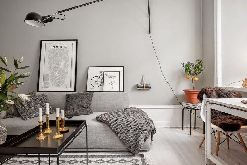 дизайн интерьера в скандинавском стиле фото