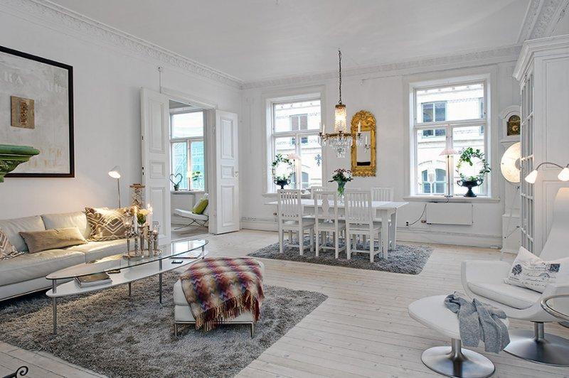 современный скандинавский стиль в интерьере