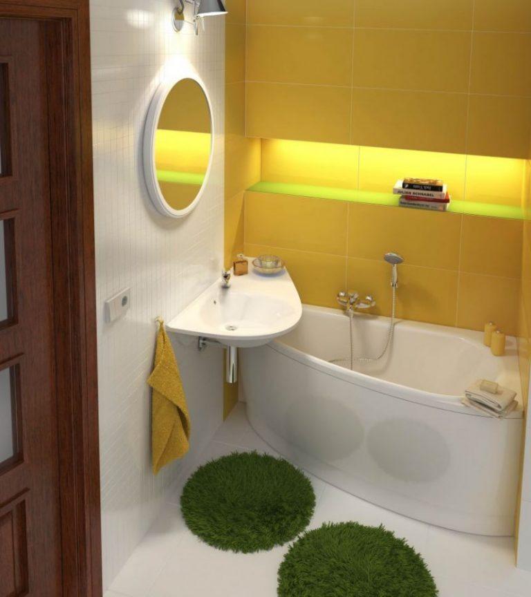 Как сделать дизайн в маленькой ванной комнате