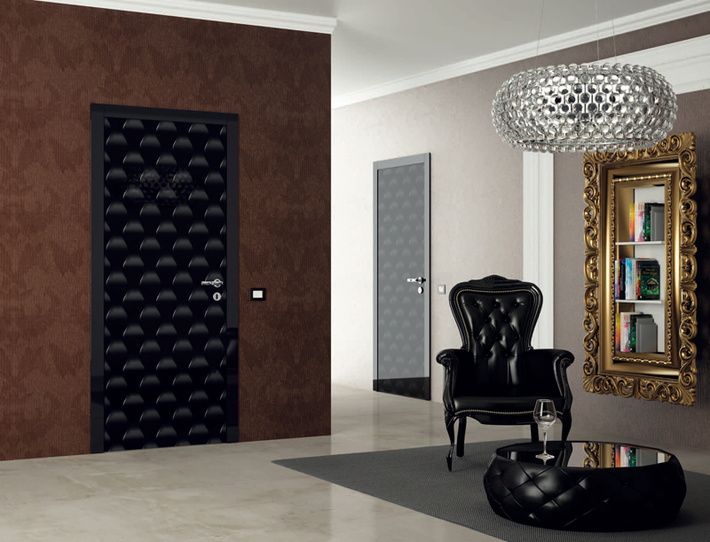 межкомнатные двери в интерьере квартиры фото цвета