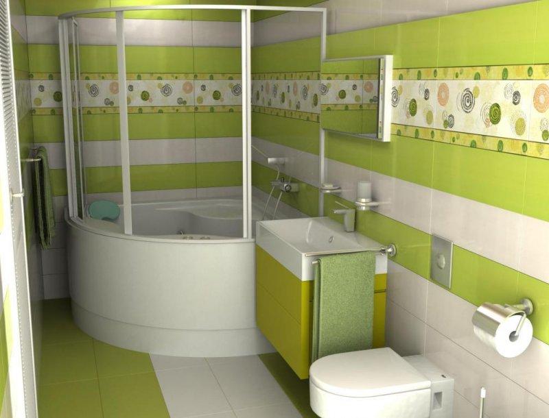 дизайн ванной комнаты фото 2018 современные идеи 4 кв.м плиткой