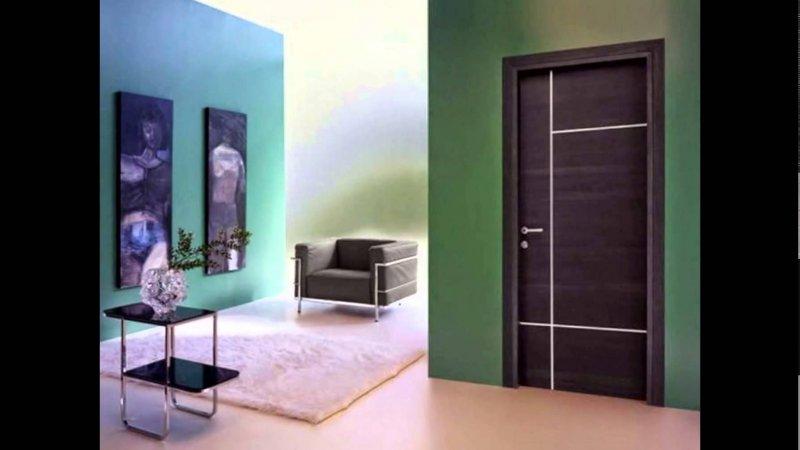 Современные межкомнатные двери 2018 года в интерьере квартиры фото