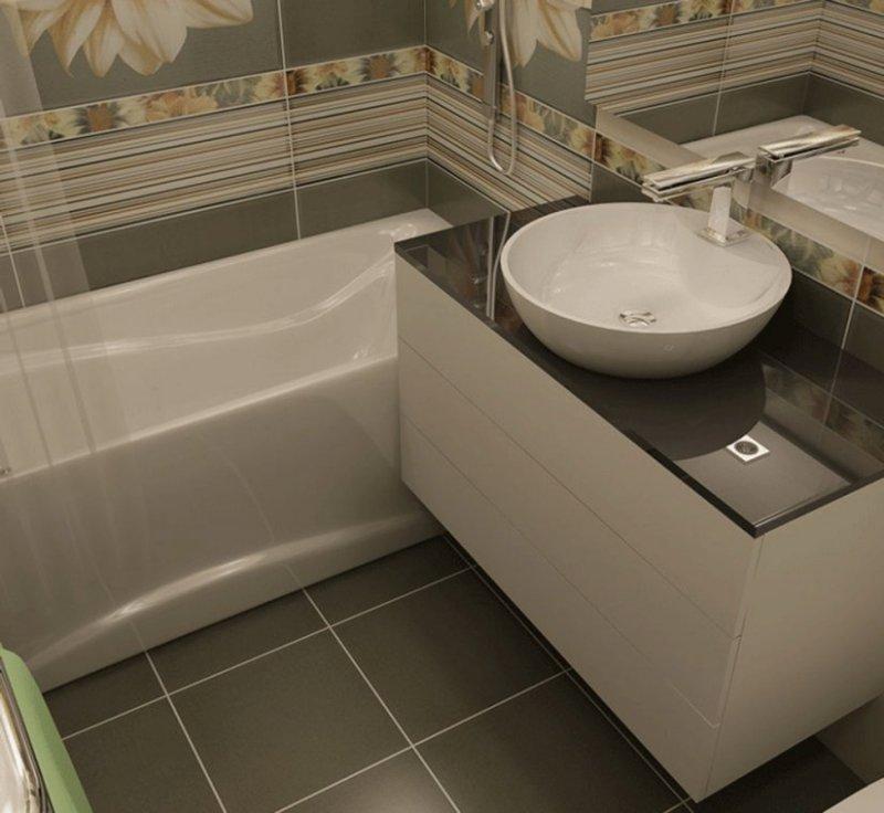 дизайн ванной комнаты фото 2018 современные идеи 4 кв.м