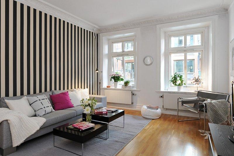 Cкандинавский стиль в интерьере квартиры 65 фотоидей